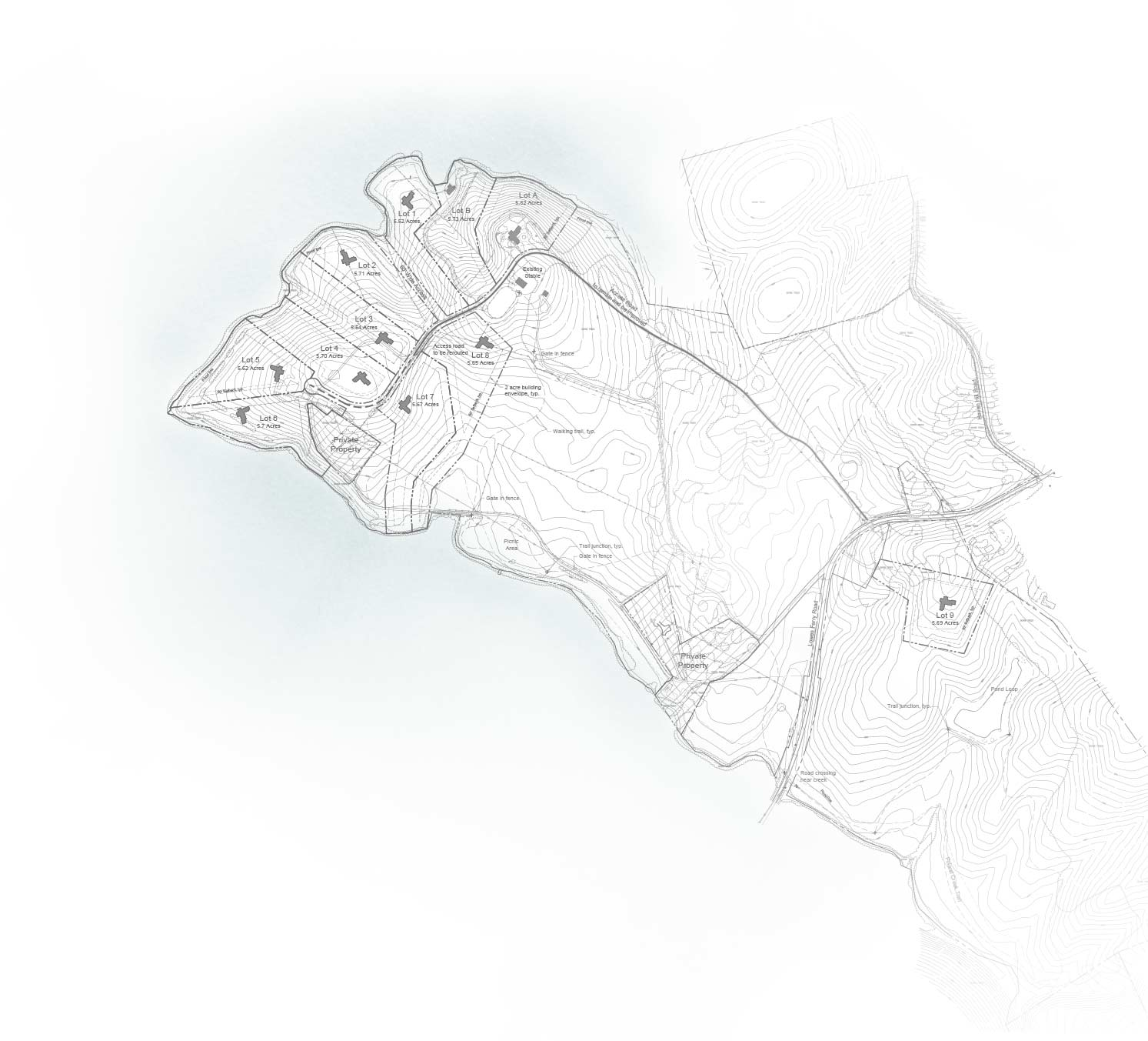 Osprey Point Map